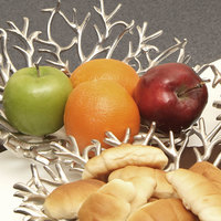 Eastern Tabletop 9445 12 inch Cast Aluminum Branch Display Tray