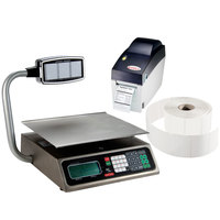 Tor Rey PC-40LT 40 lb. Price Computing Scale with Tower and Printer Kit, Legal for Trade