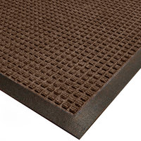 Cactus Mat 1425M-B46 Water Well I 4' x 6' Classic Carpet Mat - Walnut