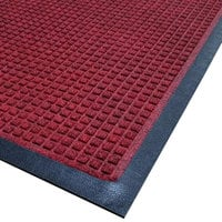 Cactus Mat 1425M-R34 Water Well I 3' x 4' Classic Carpet Mat - Red