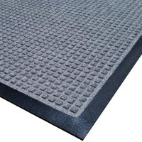 Cactus Mat 1425M-E31 Water Well I 3' x 10' Classic Carpet Mat - Gray