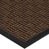 Cactus Mat 1426M-G35 Water Well II 3' x 5' Parquet Carpet Mat - Walnut