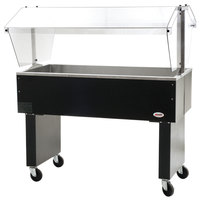 Eagle Group BPCP-3 48 inch Deluxe Service Mates Portable Ice-Cooled Buffet Table with Open Base