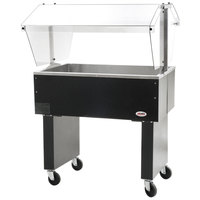 Eagle Group BPCP-2 33 inch Deluxe Service Mates Portable Ice-Cooled Buffet Table with Open Base