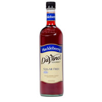 DaVinci Gourmet 750 mL Sugar Free Huckleberry Flavoring / Fruit Syrup