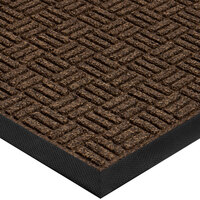 Cactus Mat 1426M-G31 Water Well II 3' x 10' Parquet Carpet Mat - Walnut