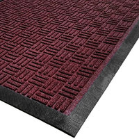 Cactus Mat 1426M-R41 Water Well II 4' x 10' Parquet Carpet Mat - Burgundy