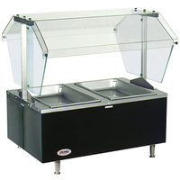 Eagle Group CDHT2 Two Pan Deluxe Service Mates Tabletop Hot Food Buffet Table - 240V, 1 Phase
