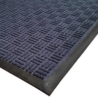 Cactus Mat 1426M-U23 Water Well II 2' x 3' Parquet Carpet Mat - Navy