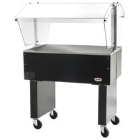 Eagle Group BPST-2 33 inch Deluxe Service Mates Solid Top Buffet Table with Open Base