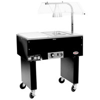 Eagle Group BC-1 Deluxe Service Mates Electric Buffet Beef Cart with Open Base