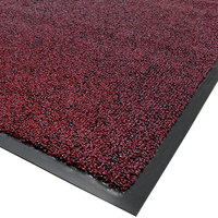 Cactus Mat 1465R-T4 Twist-Loop 4' x 60' Scraper Mat Floor Roll - Burgundy