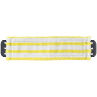 Unger MD40Y SmartColor MicroMop 7.0 16 inch Yellow Wet / Dry Mop Pad