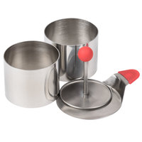 Ateco 4950 2 3/4'' Stainless Steel 4-Piece Round Food Molding Kit (August Thomsen)