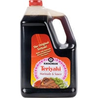 Kikkoman Teriyaki Marinade and Sauce - (4) 1 Gallon Containers / Case