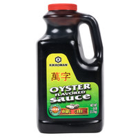 Kikkoman 5 lb Preservative Free Oyster Flavored Sauce   - 6/Case