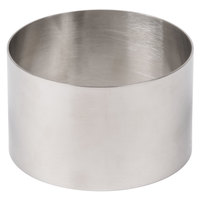 Ateco 4953 3 1/2 inch Stainless Steel Round Food Mold (August Thomsen)