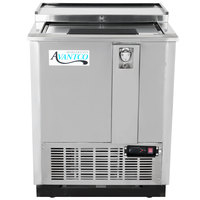 "Avantco JBC-25S 25"" Stainless Commercial Horizontal Beer Bottle Cooler - 115V"