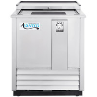 Avantco JBC-25S 25 inch Stainless Commercial Horizontal Beer Bottle Cooler - 115V