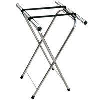 Aarco CTS Chrome Tray Stand - 31 inch