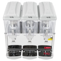 Avantco RBD33 Triple 3 Gallon Bowl Refrigerated Beverage Dispenser