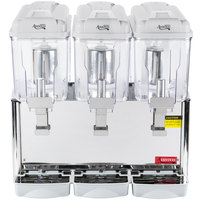 Avantco RBD33 Triple 3 Gallon Bowl Refrigerated Beverage Dispenser