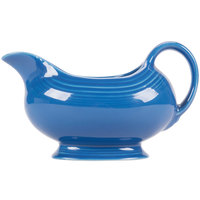 Homer Laughlin 486337 Fiesta Lapis 18.5 oz. Sauce Boat - 4/Case