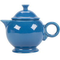 Homer Laughlin 496337 Fiesta Lapis 44 oz. Covered Teapot - 4 Sets / Case