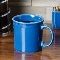 Homer Laughlin 570337 Fiesta Lapis 12 oz. China Java Mug - 12/Case