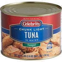 Celebrity 66.5 oz. Tongol Chunk Light Tuna - 6/Case