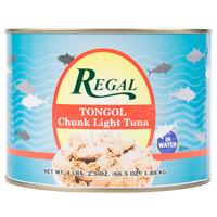 Regal Foods Tongol Chunk Tuna 66.5 oz.   - 6/Case