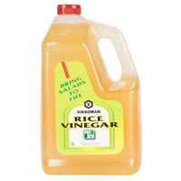 Kikkoman Rice Vinegar - (4) 1 Gallon Containers / Case - 4/Case