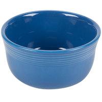 Homer Laughlin 723337 Fiesta Lapis 28 oz. China Gusto Bowl - 6/Case