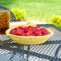 Homer Laughlin 487320 Fiesta Sunflower 10 1/4 inch Deep Dish Pie Baker - 4/Case
