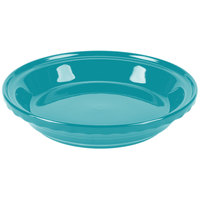 Homer Laughlin 487107 Fiesta Turquoise 10 1/4 inch Deep Dish Pie Baker - 4/Case
