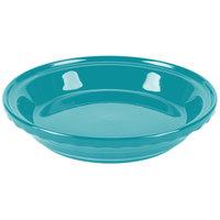 Homer Laughlin 487107 Fiesta Turquoise 10 1/4 inch Deep Dish Pie Baker - 4/Case
