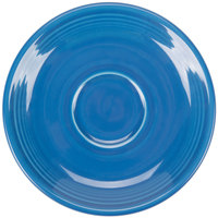 Homer Laughlin 470337 Fiesta Lapis 5 7/8 inch China Saucer - 12/Case