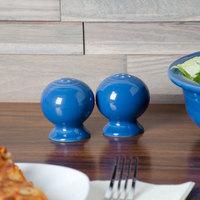 Homer Laughlin 497337 Fiesta Lapis China Salt and Pepper Shaker Set - 4/Case