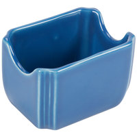 Homer Laughlin 479337 Fiesta Lapis 3 1/2 inch x 2 3/8 inch Sugar Caddy - 12/Case