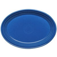 Homer Laughlin 456337 Fiesta Lapis 9 5/8 inch Platter - 12/Case