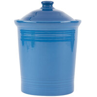 Homer Laughlin 572337 Fiesta Lapis Medium 2 Qt. Canister with Cover - 2 / Case