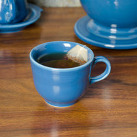 Homer Laughlin 452337 Fiesta Lapis 7.75 oz. China Cup - 12/Case