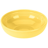 Homer Laughlin 1459320 Fiesta Sunflower 68 oz. Large Bistro Bowl   - 4/Case