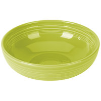Homer Laughlin 1459332 Fiesta Lemongrass 68 oz. Large Bistro Bowl   - 4/Case