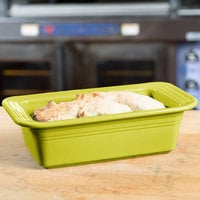 Homer Laughlin 813332 Fiesta Lemongrass 5 3/4 inch x 10 7/8 inch x 3 inch Loaf Pan - 3/Case
