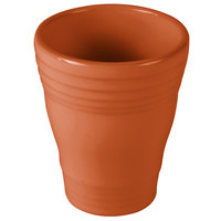 Homer Laughlin 1453334 Fiesta Paprika 12 oz. Bath Tumbler - 4/Case