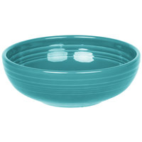 Homer Laughlin 1458107 Fiesta Turquoise 38 oz. Medium Bistro Bowl   - 6/Case
