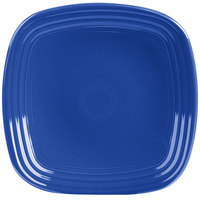 Homer Laughlin 920337 Fiesta Lapis 9 1/8 inch Square China Luncheon Plate - 12/Case