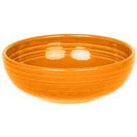Homer Laughlin 1458325 Fiesta Tangerine 38 oz. Medium Bistro Bowl   - 6/Case