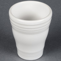 Homer Laughlin 1453100 Fiesta White 12 oz. Bath Tumbler - 4/Case